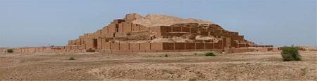 Las ruinas de la Ciudad Santa del reino de Élam.