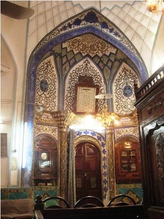 Una de las 17 sinagogas de Isfahan