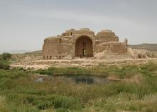 Palacio de Ardashir en Firuzabad