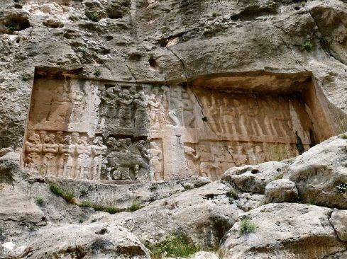 Relieve de Shapur II en Bishapur (VI)